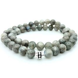 Collier de perles de Labradorite naturel