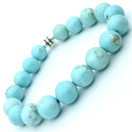 """Rati Silver"" Bracelet Turquoise"