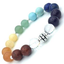 """Bracelet """"Résilience"""" 7 chakras"""
