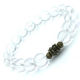"""Sita Bronze"" Bracelet Cristal de Roche"