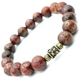 """""""Sita Bronze"""" Bracelet Jaspe Bréchique"""