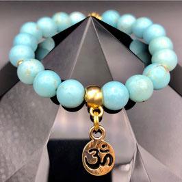 """""""Om"""" Bracelet Turquoise"""