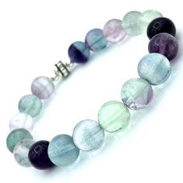 """Rati Silver"" Bracelet  Fluorite"