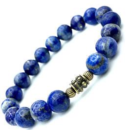 """Sita Bronze"" Bracelet Lapis-lazuli"