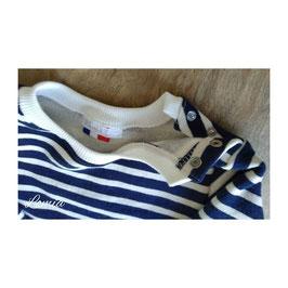 Sweat marinière bleu marine