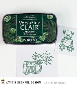 Versafine Clair Rain Forest - Dunkelgrün