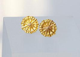 Mohnohrstecker Gold