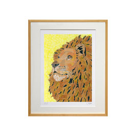 セロ版画™️「ライオン2015」