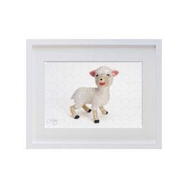 ラベル版画™209「子羊」