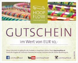 Gutschein, HoopFlow-Online-Shop