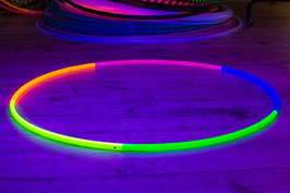 Rainbow Hoop UV-aktiv