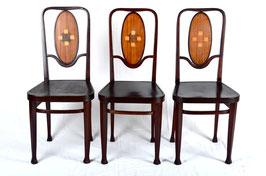 3 Thonet Stühle
