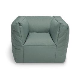 fauteuil pouf vert sauge