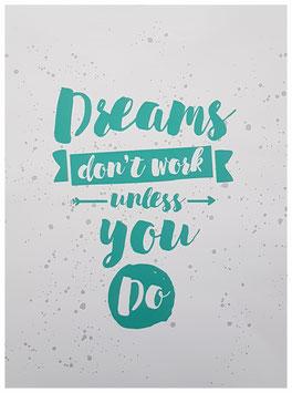 """poster """"dreams"""""""