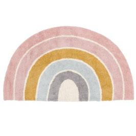 """tapis décoratif arc-en-ciel """"pastel"""""""