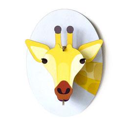 mini trophée carton girafe