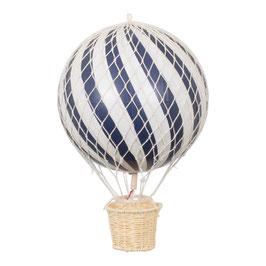 ballon montgolfière 20cm bleu nuit