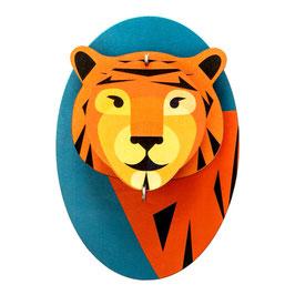 mini trophée carton tigre