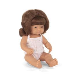 poupée *fille* cheveux roux