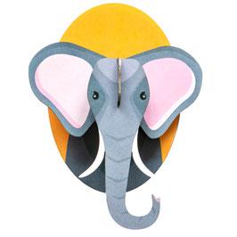 mini trophée carton éléphant