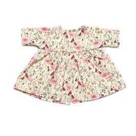 robe en coton pour poupée 34-38cm