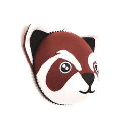 trophée tissu panda roux