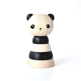 "gerbeur bois ""panda retro"""