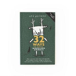 """livre d'activités 32 façons d'habiller """"les animaux de la forêt"""""""