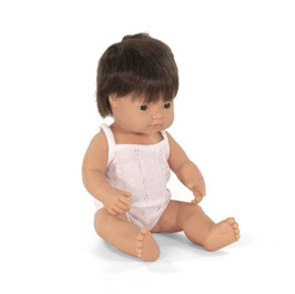 poupée *garçon* cheveux brun