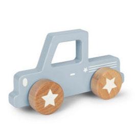 pick-up bois bleu/gris clair