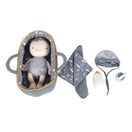 set poupée doudou bébé Jim