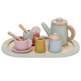 plateau de thé en bois