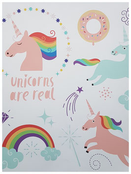 """poster """"licorne candy"""""""