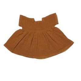 robe en mousseline pour poupée 38cm