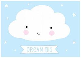 """carte postale """"nuage"""""""