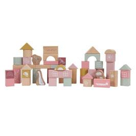 """blocs de construction bois """"rose"""""""