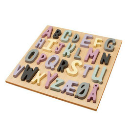 "puzzle alphabétique bois ""ABC little girl"""