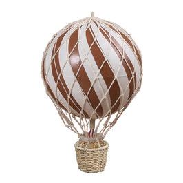 ballon montgolfière 20cm rouille