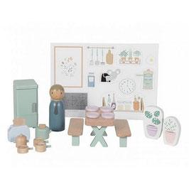 """accessoires bois pour maison de poupée """"cuisine"""""""
