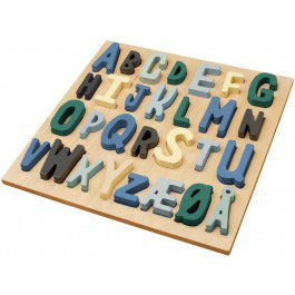 "puzzle alphabétique bois ""ABC little boy"""