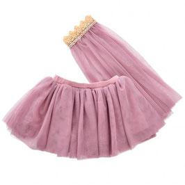 jupe & voile en tulle pour poupée 38-42cm