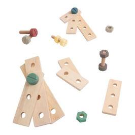 set de construction en bois