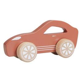 voiture de sport bois rouille