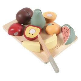 fruits en bois à découper