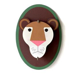 mini trophée carton lion