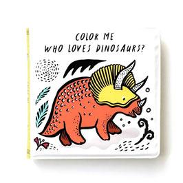 """livre de bain magique """"dinosaures"""""""
