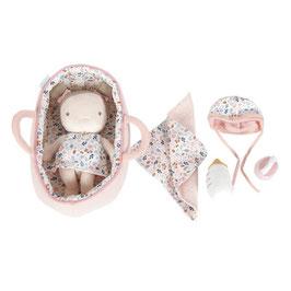 set poupée doudou bébé Rosa