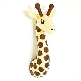 trophée tissu girafe