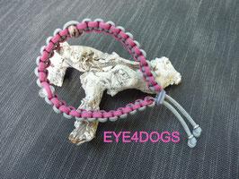 Halsband met edelsteen model Autumn (Edelsteenband gecombineerd met een edelsteen naar keuze en een bergkristal)