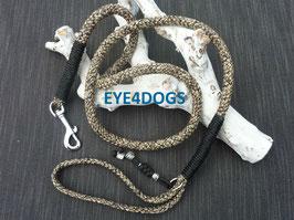 Hondenlijn Moccasin 8mm